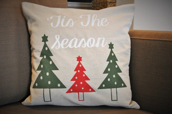 Tis the season - Christmas Pillow Cover - Our Traditions Boutique - 1
