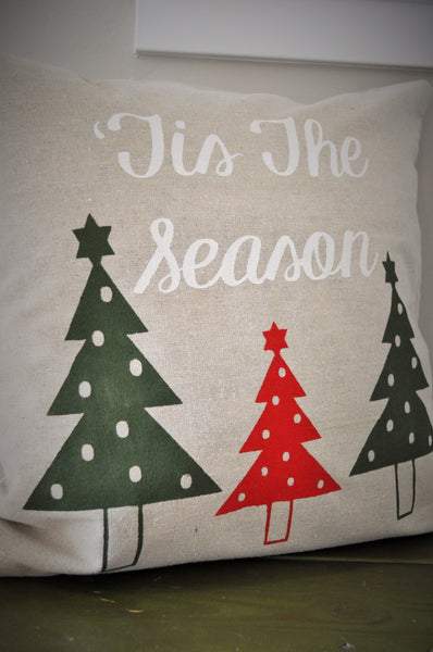 Tis the season - Christmas Pillow Cover - Our Traditions Boutique - 2