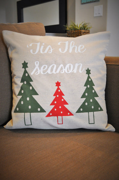 Tis the season - Christmas Pillow Cover - Our Traditions Boutique - 3