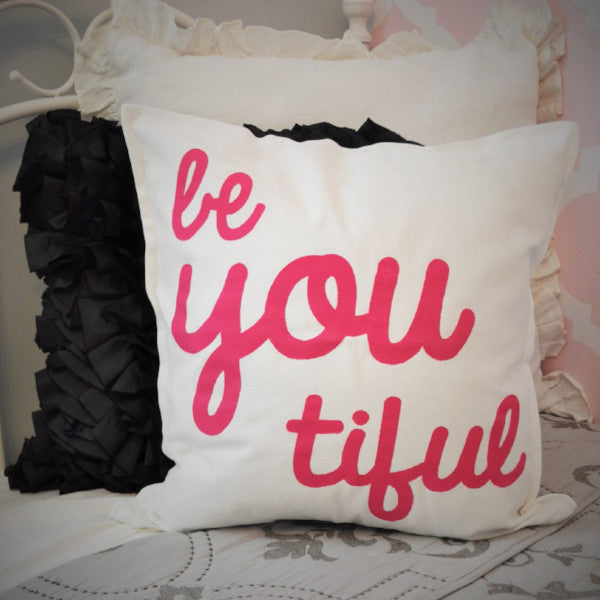 Beyoutiful Pillow Cover - Our Traditions Boutique - 1