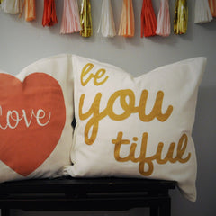 Beyoutiful Pillow Cover - Our Traditions Boutique - 3