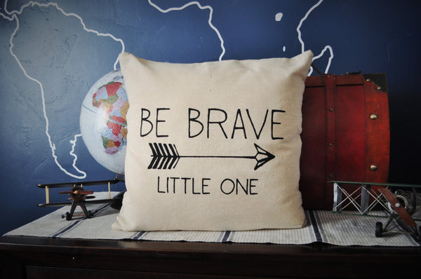 Be brave little one pillow cover - Our Traditions Boutique - 3