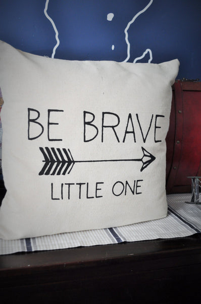 Be brave little one pillow cover - Our Traditions Boutique - 4