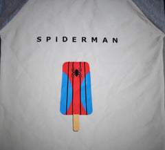 SALE, Super Hero Shirt, SPIDER MAN shirt, boys baseball shirt, Raglan shirt - Our Traditions Boutique - 4
