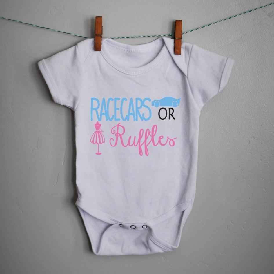 Gender reveal onesie, gender reveal shirt, boy or girl, gender reveal party, gender reveal decor