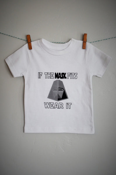 If the mask fits Darth Vader Shirt - Our Traditions Boutique - 2