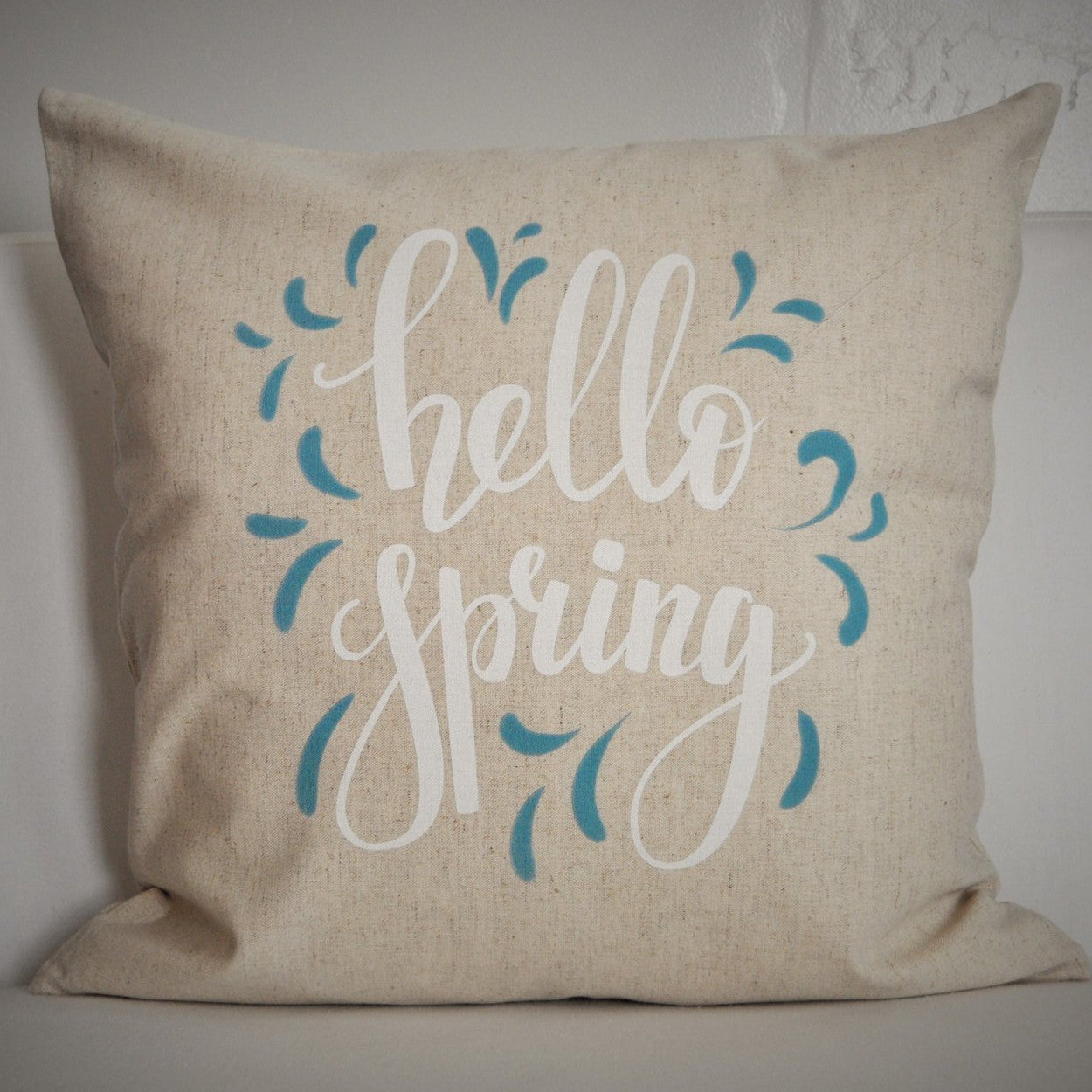 Hello Spring Pillow Cover - Our Traditions Boutique - 1