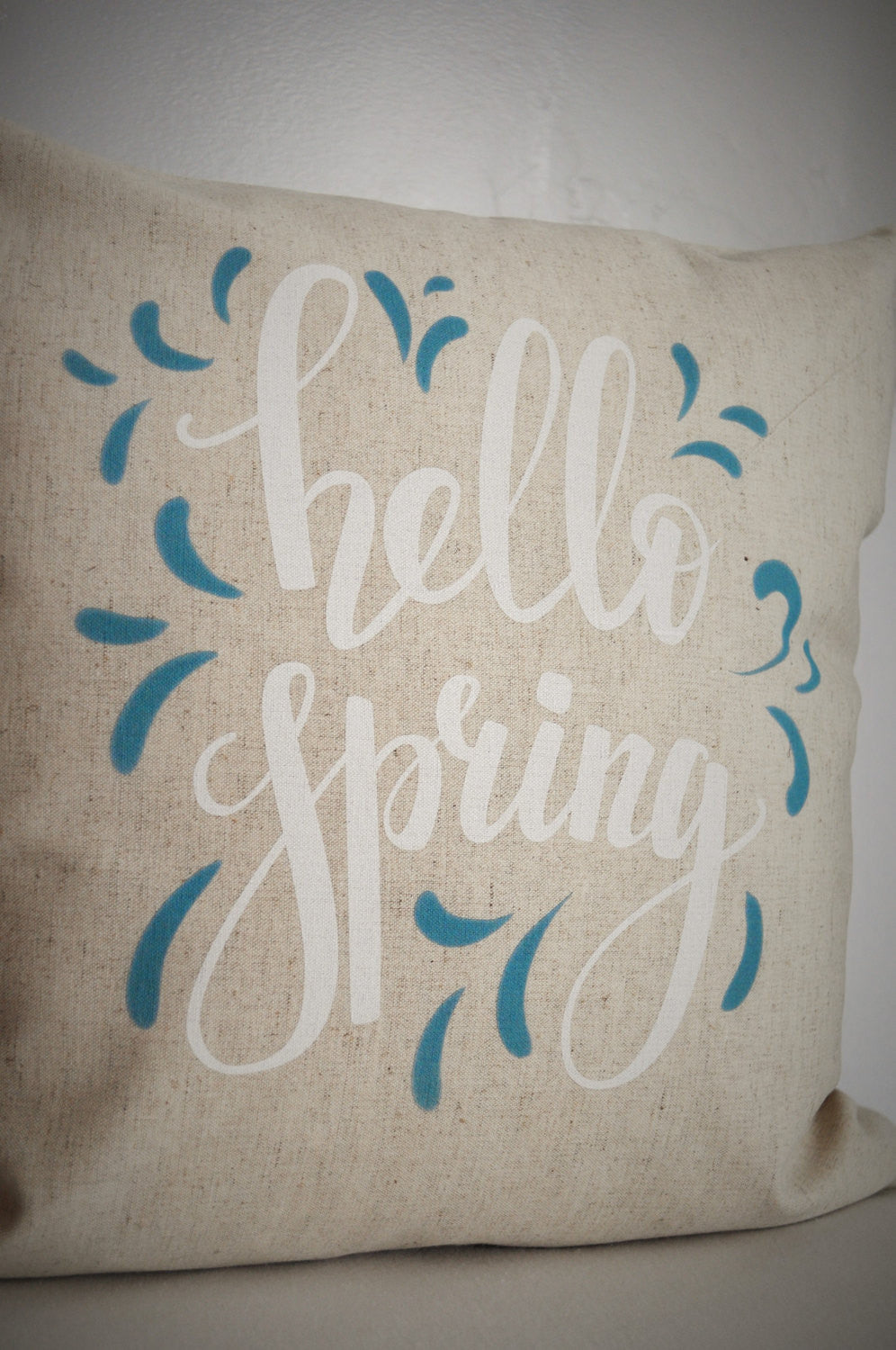 Hello Spring Pillow Cover - Our Traditions Boutique - 2