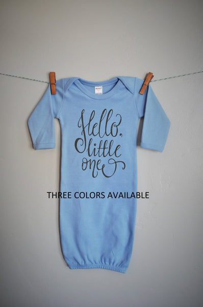 Hello Little One baby sack for Girl or Boy - Our Traditions Boutique - 2