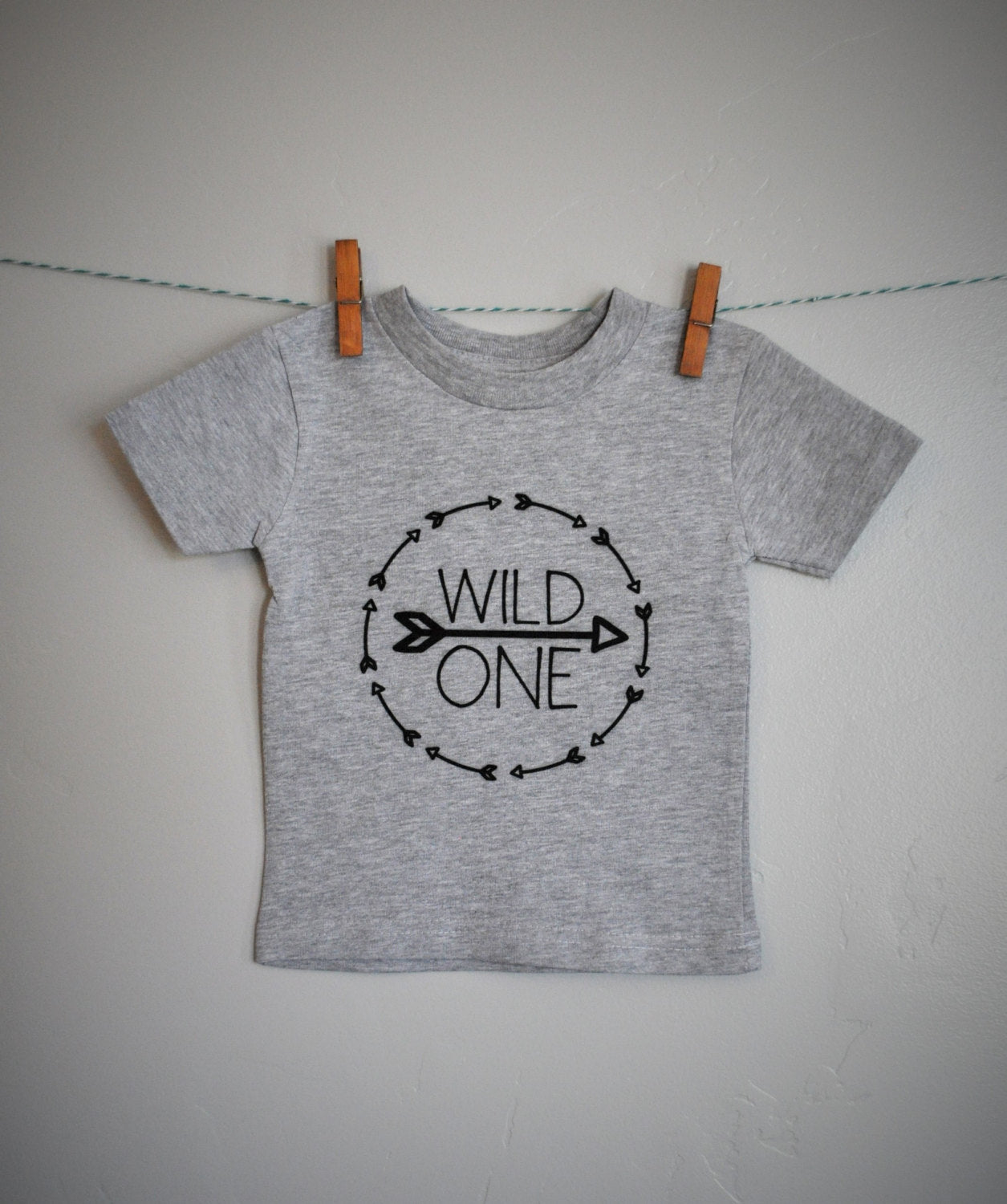 Wild One Shirt First Birthday Boy Girl