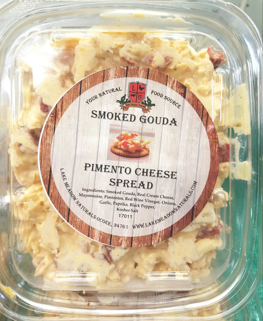 Smoked Gouda Pimento Cheese Spread