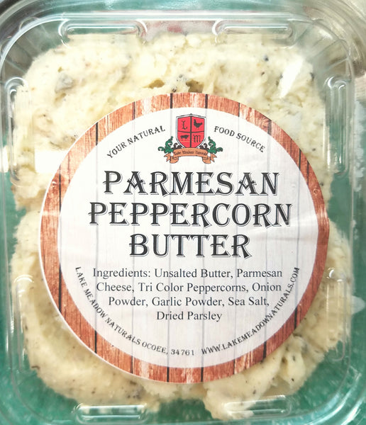 Parmesan Peppercorn Butter