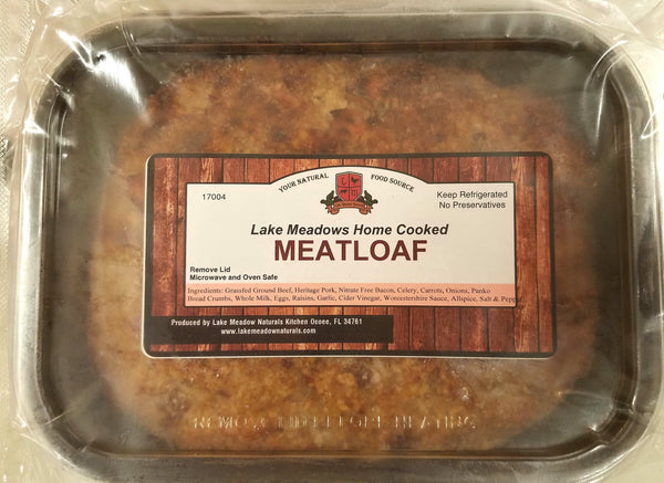 Lake Meadow Naturals Home Cooked Meatloaf