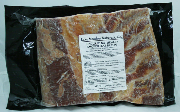 Uncured Bacon SLab
