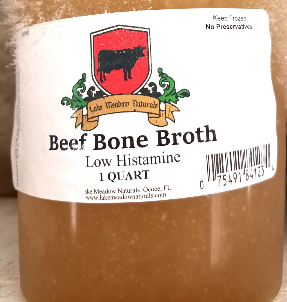 Beef Bone Broth Low Histamine