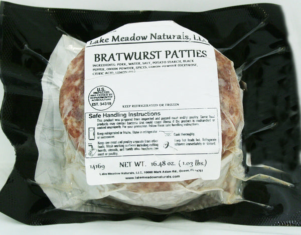 Bratwurst Patties