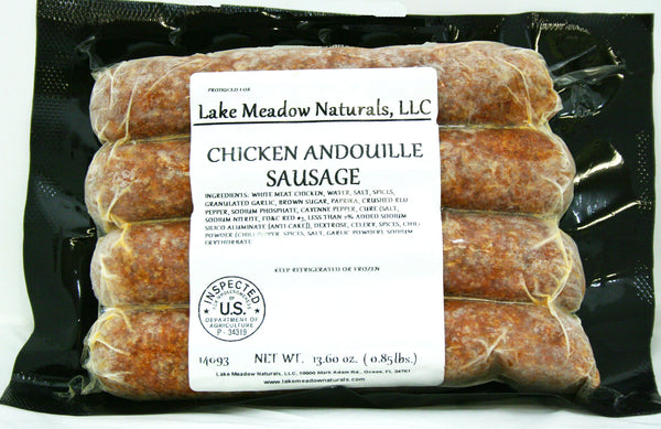 Chicken Andouille Sausage