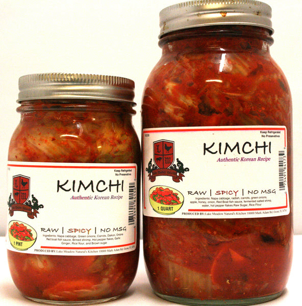Lake Meadow Natural's KimChi Spicy