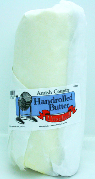 Amish Hand Rolled Unsalted Butter