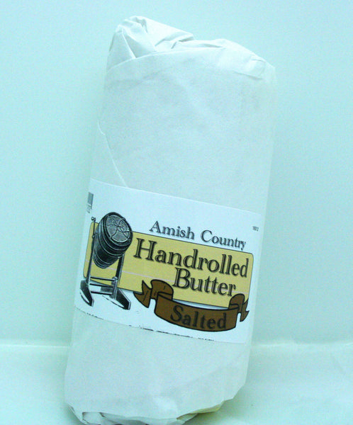 Amish Hand Rolled Butter Salted