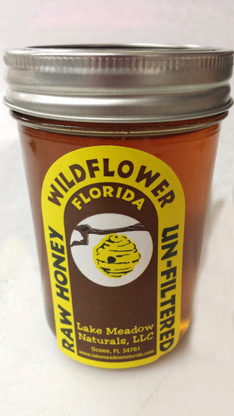 Wildflower Honey half Pint Jar