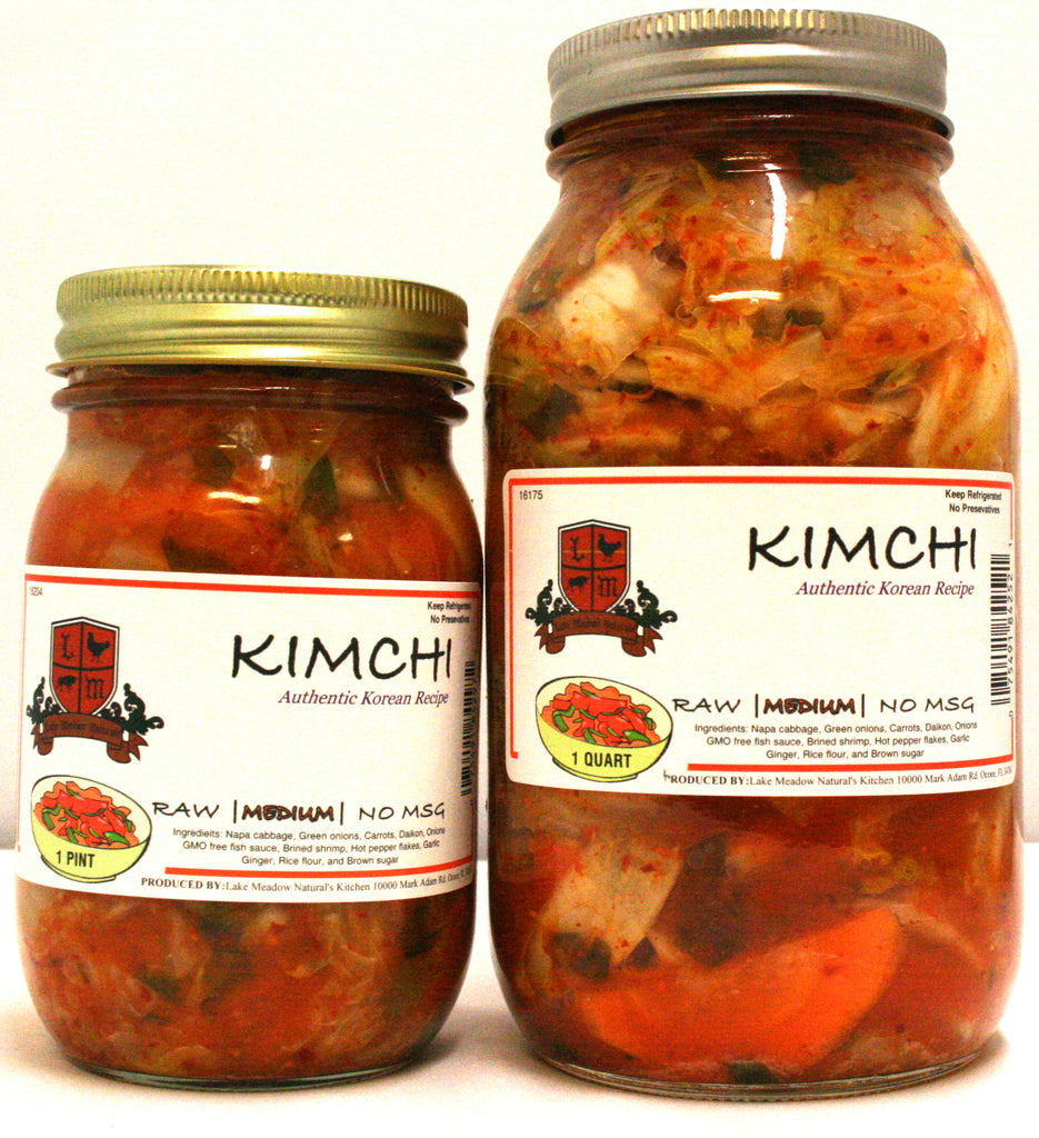 Lake Meadow Natural's KimChi Medium