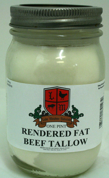 Rendered Beef Tallow