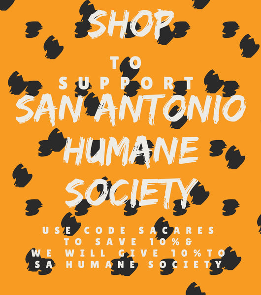 Help us to give to San Antonio Humane Society