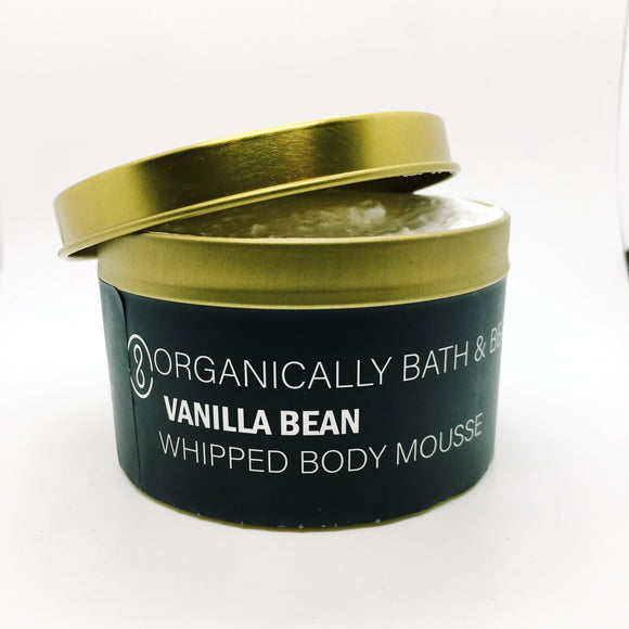 Vanilla Bean Whipped Body Mousse (8oz)