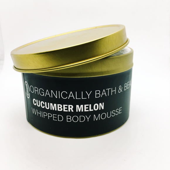 Cucumber Melon Whipped Body Mousse