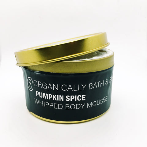 Pumpkin Spice Whipped Body Mousse