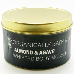 Almond & Agave' Whipped Body Mousse