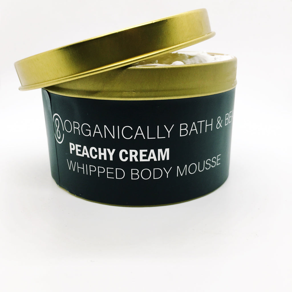 Peachy Cream Whipped Body Mousse (8oz)