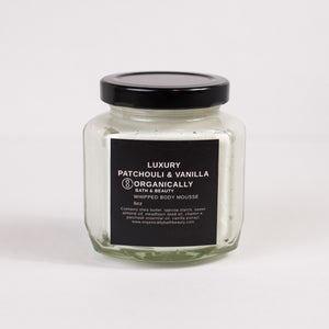 Patchouli & Vanilla Whipped Body Mousse 6oz