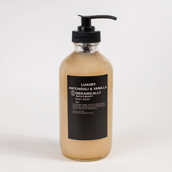 Patchouli & Vanilla Body Wash