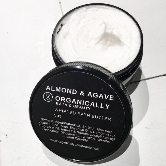 Almond & Agave Whipped Bath Butter