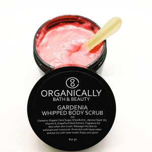 Gardenia Whipped Body Scrub