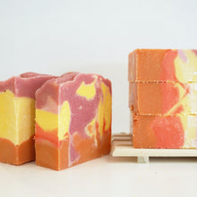 Load image into Gallery viewer, Tropical Sunrise Soap Loaf