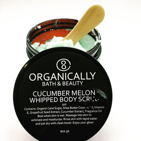 Cucumber Melon Whipped Body Scrub