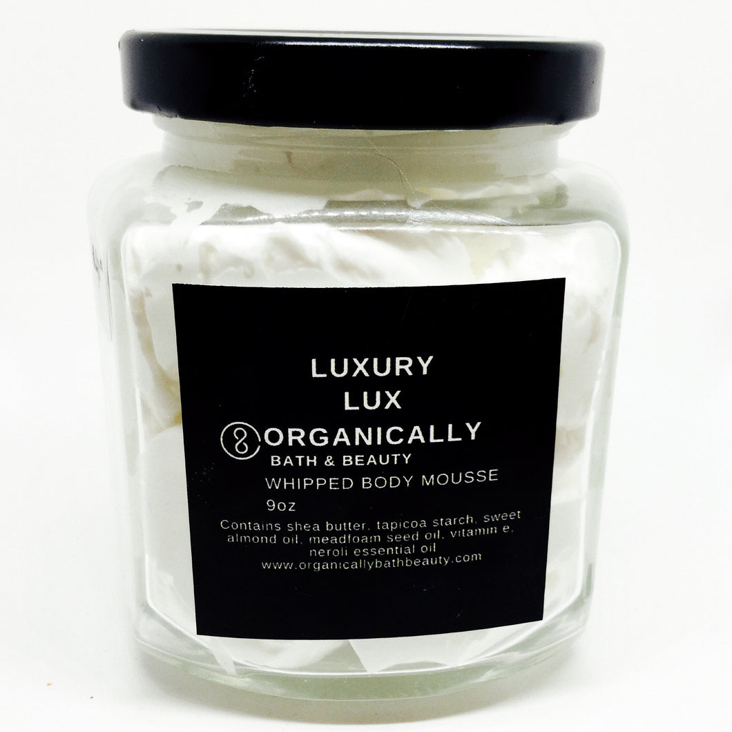 Lux Whipped Body Mousse 9oz