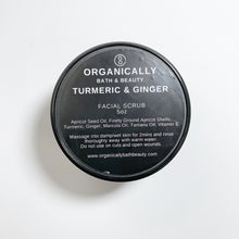 Load image into Gallery viewer, Turmeric + Ginger Facial Scrub