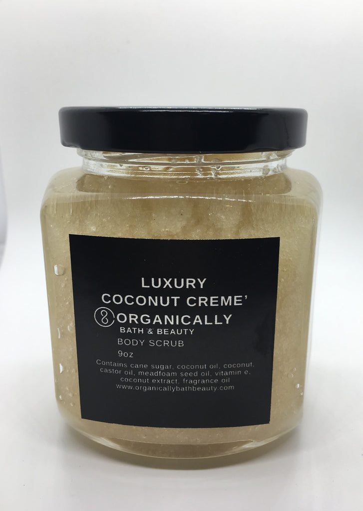 Coconut Creme' Body Scrub