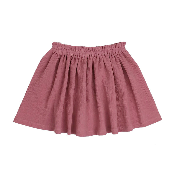 Womens Mauve High Waist Skirt