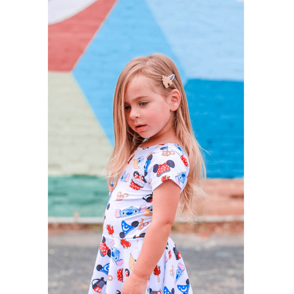 Girl's Disney Treats Mini Twirl Dress. READ DESCRIPTION