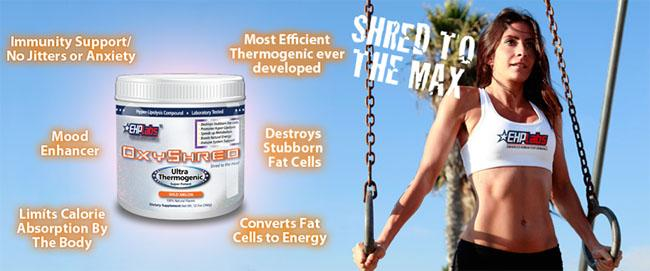 Oxyshred | THE PROTEIN SHACK
