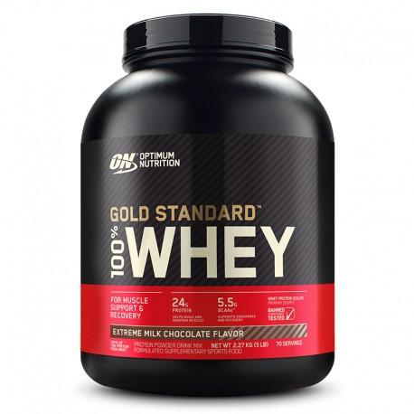 ON GOLD STANDARD 100% WHEY PROTEIN - THE PROTEIN SHACK