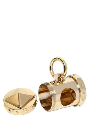 "Bon Ton ""Nano"" Chrome - Waste Bag Dispenser Gold"