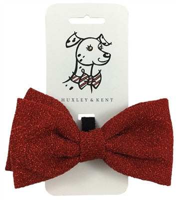 Bow Tie - Glitter Red