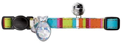 Hunter Cat Collar - Candy Stripes