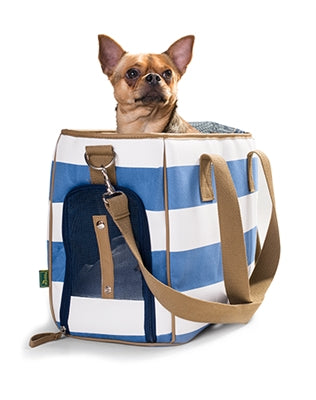 Sky Dog Car Seat - Coffee Moroccan Lattice